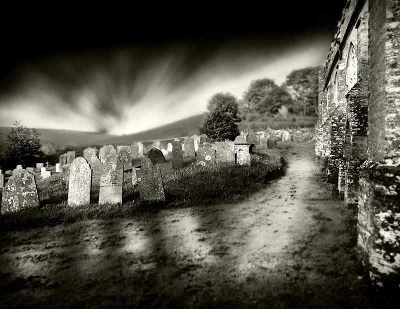 The 17th Century Cemetery by Marc Blake